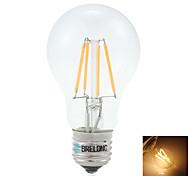 1 Stück BRELONG E26/E27 4W 4 COB 350lm LM Warmes Weiß edison Vintage LED Kugelbirnen AC 220-240 V