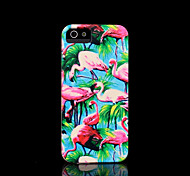 flamingo patroon dekking voor iphone 4 case / iphone 4 s case