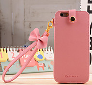 Trendy Princess Style PU Leather Protective Case with Bowknot Strap for iPhone 6 (Assorted Colors)