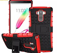 Kemile Heavy Duty Stand Cases Robot Phone Hard Back Cover Case for LG G Stylo G4 note (Assorted Colors)