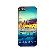 Personalized Gift You Can't Have a Rainbow Design Aluminum Hard Case for iPhone 5/5S