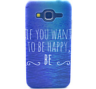 Happy Sea Pattern PC Hard Case forSamsung Galaxy Core Prime G360 G360H G3606 G3608 Back Cover