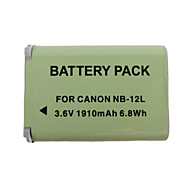 12L 1910mAh Camera Battery for Canon G1X Mark II N100 MINI X