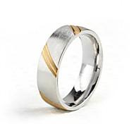 Z&X® Men's Party/Casual Fashion Titanium Steel Rings