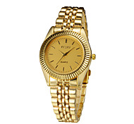 2015 Women Wristwatches with Luxury Gold Band Fashion Dress Watch Brand New Stainless Steel Relogio Feminino