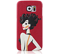 3D Print Girl Pattern for Samsung Galaxy S6