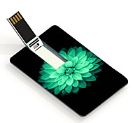 64gb belle fleur carte de conception lecteur flash USB