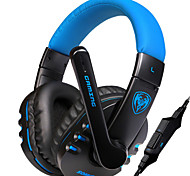 Luminous Stereo Gaming Headphone with Microphone Game Noise Isolating PC Headset for Brand Computer/DJ Music/LOL/CF