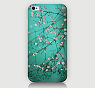 el caso del modelo de flores blancas fmall contraportada para iPhone4 / 4s