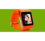 New Smart Watch Phone for Android and ios Pedometer Touchscreen Thin Watch Waterproof Camera