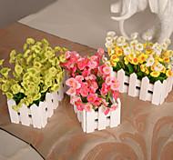 Silk / Plastic Campanula Artificial Flowers