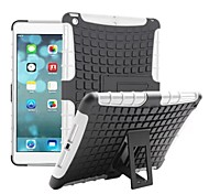 Tire Wave TPU and PC Back Case With Hold For Apple iPad air iPad 5 (Assorted Color)