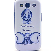 Dumbo Pattern PC Hard Case for Samsung S3 I9300