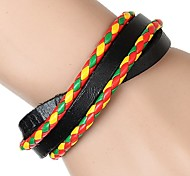 Z&X® Leather Leisure Matching Leather Bracelets Party/Daily/Casual 1pc