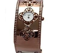 Women's Alloy Watchband Quartz Bangle Watch