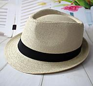 Da uomo Vimini Copricapo-Casual All'aperto Cappelli 1 pezzo