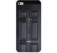 Tür, die alte Weisen Muster Telefon zurück Fall Deckung für iphone5c