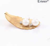 Euner® 2015 New Fashion Jewelry Pearl Earrings for Women