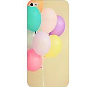 o telefone padrão balão tampa da caixa traseira para iphone5c