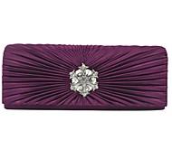 Handbag Velvet Evening Handbags With Crystal/ Rhinestone/Metal