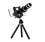 8x Zoom Optical Telephoto Lens Manual Focus Telescope Phone Camera Lens with Tripod