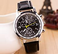 Men's Watches  Six Eyes Three Pin Casual Fashion Quartz Strap Watch Cool Watch Unique Watch