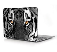 "The Eye of Tiger Design Full-Body Protective Plastic Case for 12"" Inch The New Macbook with Retina Display"