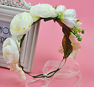 Flashion Charming Wedding Party USA Bride Flower Handmake Silver Headband Hair Accessories