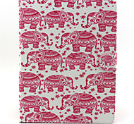 Elephant  Pattern Full Body Cover for iPad 2/3/4