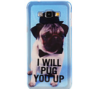 The dog  Pattern TPU Soft Case for Galaxy A8