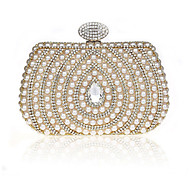 Handbag Silk Evening Handbags/Mini-Bags With Pearl