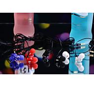 clásico de 3,5 mm para auriculares 1.0 de 100cm de oído para el iphone / samsung / Huawei / mijo / arroz rojo / htc (color clasificado)