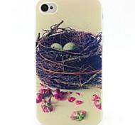 modello nido materiale TPU soft phone per iphone 4 / 4s