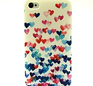 Boom Love Pattern TPU Soft Back Case for iPhone 4/4S