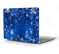 "Snowflake Design Full-Body Protective Case for 12"" Inch The New Macbook with Retina Display (2015 Release)"