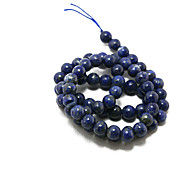 Beadia 39Cm/Str (Approx 60Pcs) Natural Blue Lapis Lazuli Beads 6mm Round Stone Loose Beads DIY Accessories
