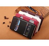 GOFO diseño especial compatible casos cuero de la PU de cuerpo completo con soporte para Samsung i9100 s2