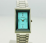 Women's Analog Alloy Case Square Dial Alloy Band Quartz Watch Women Business Watch Ladies Watch(Assorted Colors)