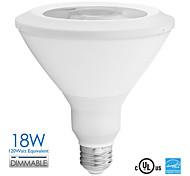 1 Stück Vanlite Dimmbar Spot Lampen PAR E26 18 W 1100 LM 2700-5000 K 1 COB Warmes Weiß/Natürliches Weiß AC 110-130 V