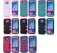 New Original All over the sky star PC Frame + Silicone Bottom Back Cover Shock Proof case for Samsung Galaxy S6/S5