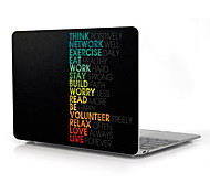"Think Positively Design Full-Body Protective Plastic Case for 12"" Inch The New Macbook with Retina Display"