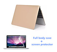 2016 Newest Aluminum Full Body MacBook Case with Screen Flim for  MacBook Pro 15.4 inch