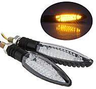 мотоцикл янтаря 30 главе включите индикатор сигнала лампочки для Yamaha дг - 011 (2 шт)