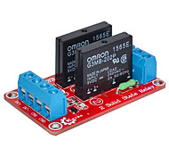 Two Solid Relay Module (Red)