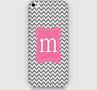 Letter Pattern Phone Back Case Cover for iPhone5C