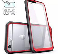 Für iPhone 6 Plus Hülle Transparent Hülle Rückseitenabdeckung Hülle Einheitliche Farbe Hart PC iPhone 6s Plus/6 Plus / iPhone 6s/6