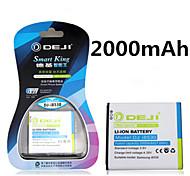 ji de alta capacidad 2000mah 3.8v batería de repuesto del li-ion para la galaxia I8530 eb585157lu i8552 i869 i8558