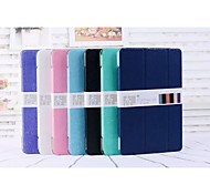 Luxury Slim Smart Wake Plastic Case Cover with Stand For Apple iPad MINI 1/2/3 (Assorted Color)