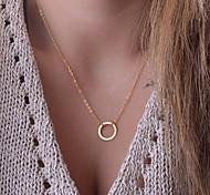 Temperament Collarbone Chain Personality Fashion Circle Necklace