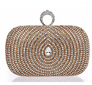 Handbag Sequin Evening Handbags/Mini-Bags With Crystal/ Rhinestone